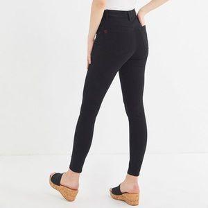 UO Super High Rise Black Jeans